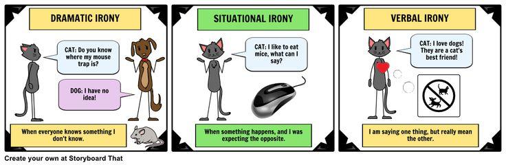 17 Best Dramatic Irony Images On Pinterest Definitions Irony