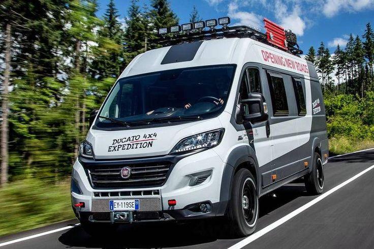 Fiat Ducato 4x4 Expedition Konzept - Neuheiten