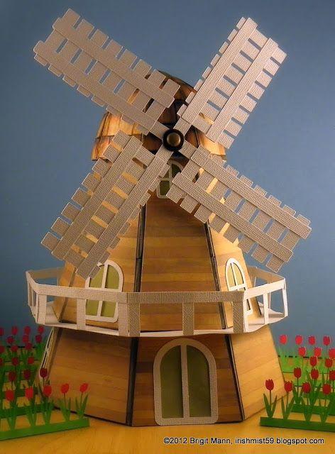 "Brigit's Scraps ""Where Scraps Become Treasures"": It's a Windmill"