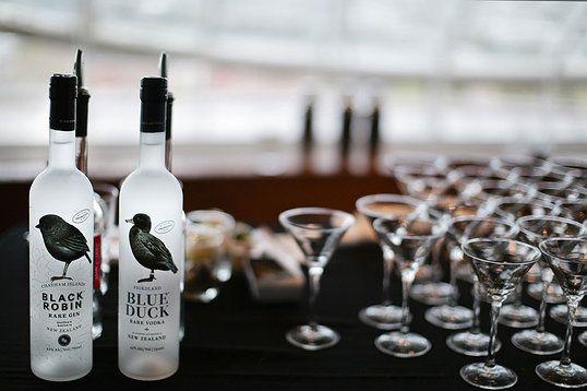 Black Robin Gin and Blue Duck Vodka www.blackrobingin.co.nz - www.blueduckvodka.co.nz