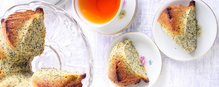 Orange & lemon buttermilk poppy seed cake. #Recipe