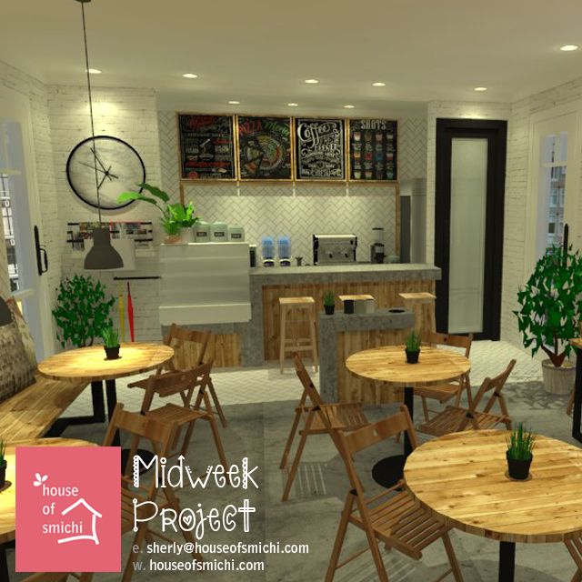 Inspired by Scandinavian look of colors and simple layout setting.  Originally designed by House of Smichi. ♥