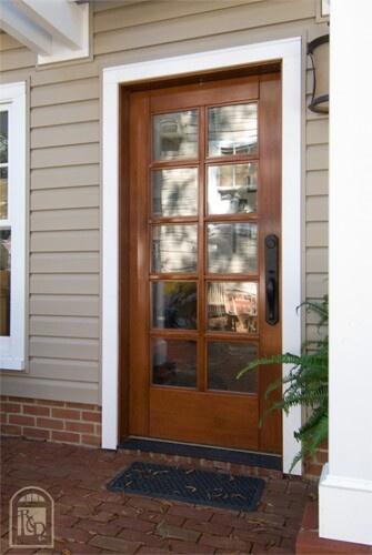 10 glass panel door