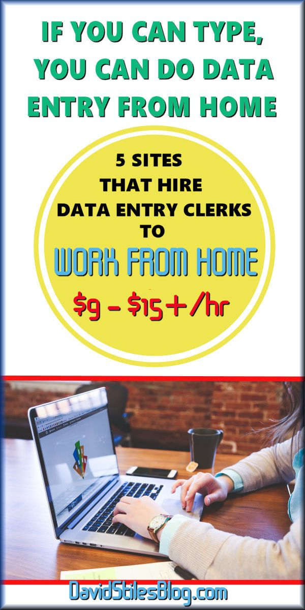 Work From Home Data Entry Jobs - Apply Now | CareerBuilder