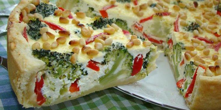 (+1)   Пирог с творогом и брокколи  : Выпечка  : Кулинария  : Subscribe.Ru