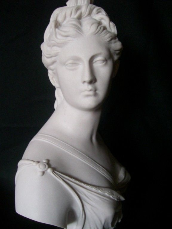 ENGLISH MADE MARBLE BUST OF ARTEMIS~ DIANA THE HUNTRESS  | eBay