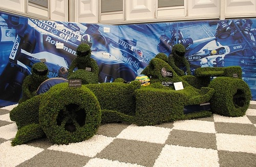Pit Stop at RHS Chelsea Flower Show 2012..