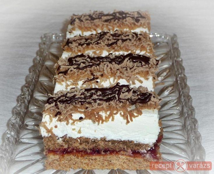 Finom, krémes sütemény. Karácsonyi gesztenyés sütemény recept Készítsd el akár 2, vagy 12 főre, a Receptvarazs.hu ebben is segít!