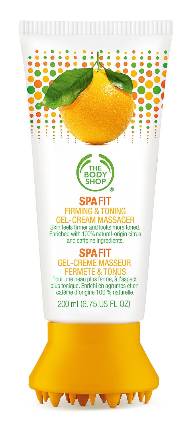 Shop our favorite body-firming products: The Body Shop's Spa Fit Firming & Toning Gel-Cream Massager