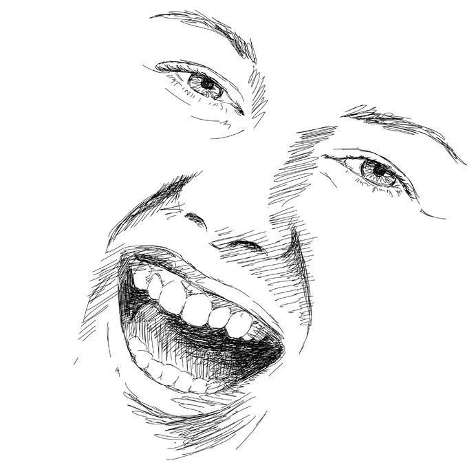 How To Draw Facial Expressions   www.drawing-made-easy.com   #sketching