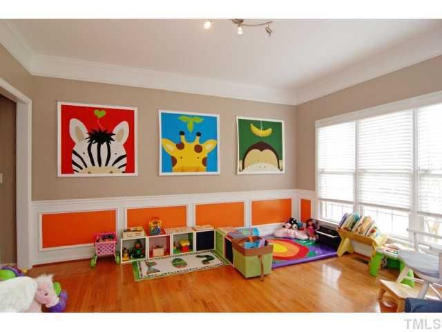 Cute idea for kids play room