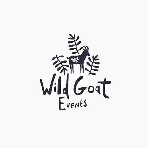 Wild Goat Events by Rosie Harbottle @rosieharbottle - BEAUTIFUL BRAND DESIGN @brandcurated @brandcurated - Want to be featured next? Follow us and tag #logoinspirations in your post