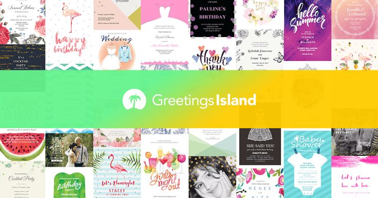Free printable greeting cards, invitations and eCards. Choose from thousands of original templates for birthdays, parties, weddings, holidays and more.