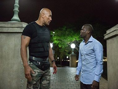 'Central Intelligence' review: There's nothing intelligent about this buddy cop film