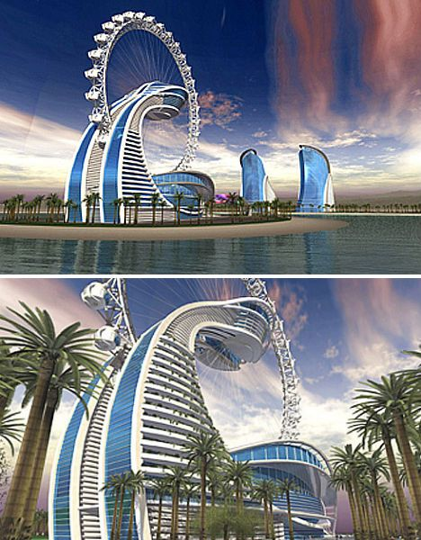 Someday, a few of these wild and wacky hotel designs may become reality – likely in Dubai – but most of these futuristic hotel concepts will remain fantasies.