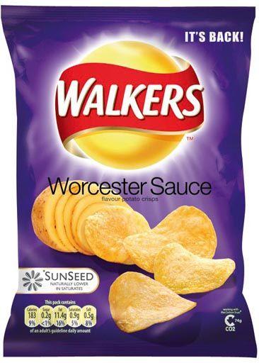 Worcester sauce crisps. I miss you.
