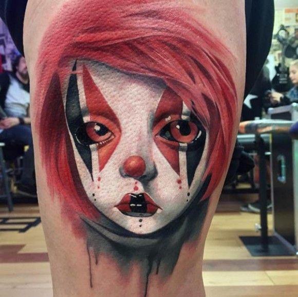 Kerry King Tattoo Hledat Googlem: Best 25+ Clown Tattoo Ideas On Pinterest