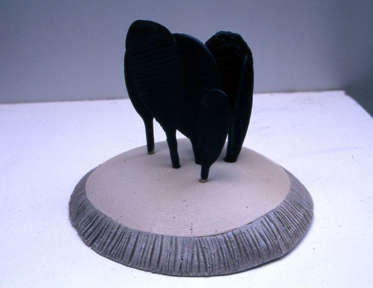 """Nusret Algan """"koru"""" 1997 32 cm"""