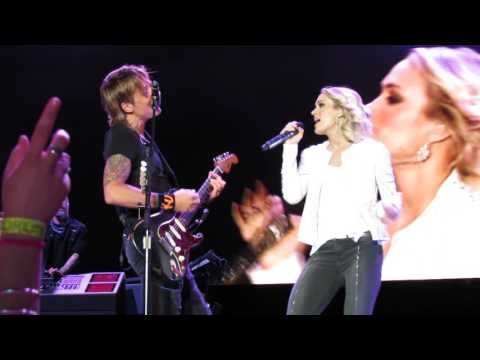 For The First Time Ever, Keith Urban And Carrie Underwood Perform Thei | Country Rebel