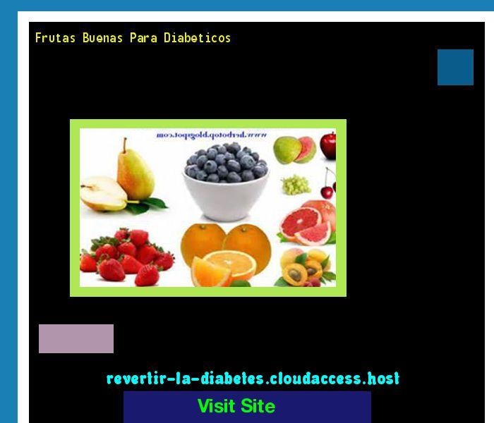que frutas son buenas para el diabetico