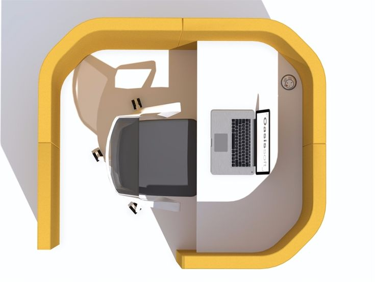 Oasis Soft Solo Hub | Acoustic Pods | Office Furniture