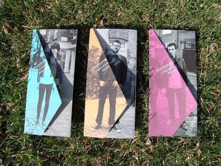 A simple, limited color palette brochure design by Brandon Souba. http://www.brandonsouba.com/