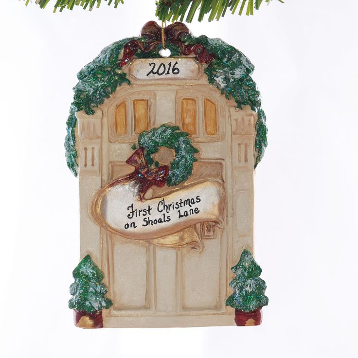 17 best images about family personalized christmas for First apartment ornament