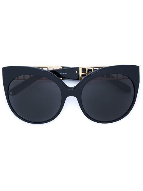 LINDA FARROW cat eye sunglasses. #lindafarrow #猫眼框太阳眼镜