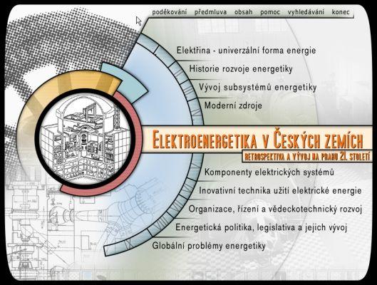 Elektroenergetika v českých zemích Retrospektiva na prahu 21. století.