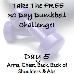 5 day dumbbell workout pdf