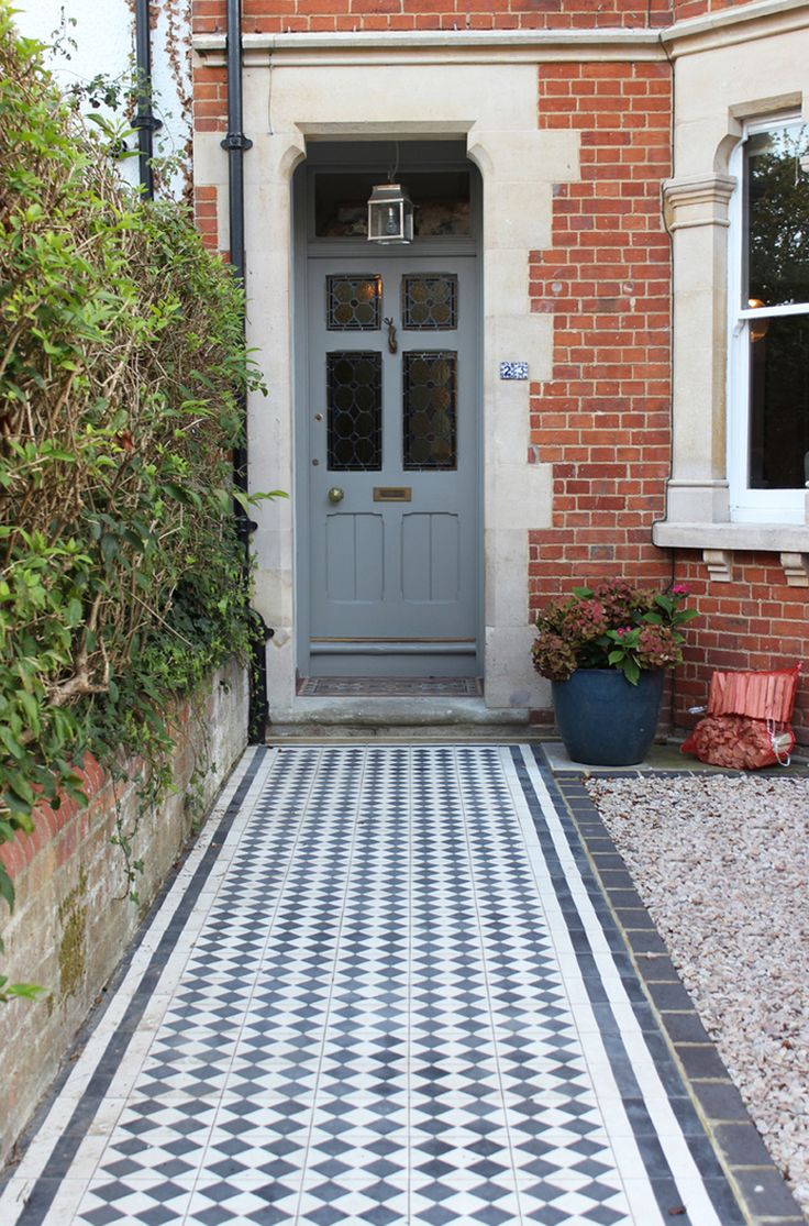 patterned encaustic cement concrete tiles