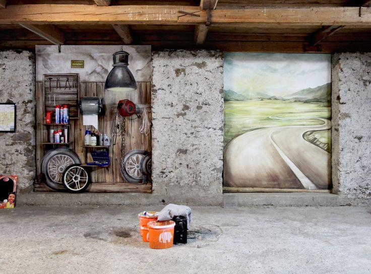 94 best Wandgestaltung - wall art images on Pinterest Wall art - wandgestaltung gothic