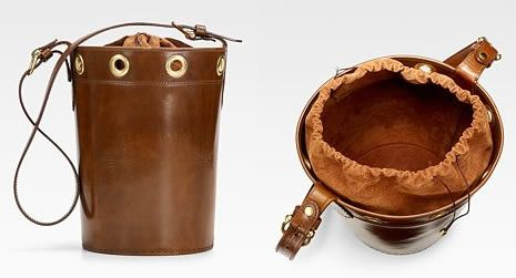 Saddlers Union Drawstring Bucket Bag