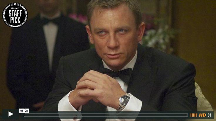 How to Design James Bond's Look