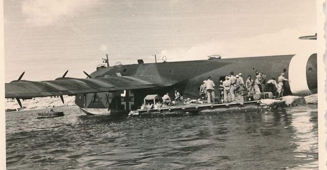 Blohm und Voss Bv 222V-4, X4+DH, Lufttransportstaffel (See) 222, Tobruk, September 1942
