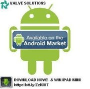 Valve Solutions android app is ready for android smartphones Download now only $2.99
