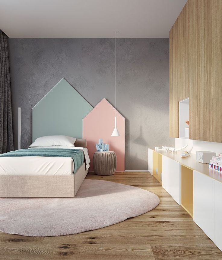 Youth Bedroom Ideas And Trends You Must Try: 49 Cozy Bedroom Design Ideas For Your Kids That You Must