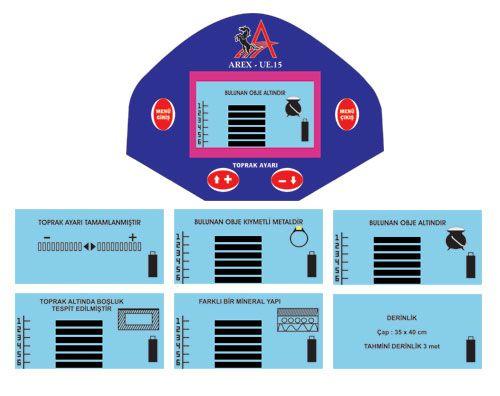2.EL AREX 15 DERİN ARAMA DEDEKTÖRÜ - Metal Dedektörü ve Çeşitli Elektronik Ürünler sahibinden.com'da - 251264475