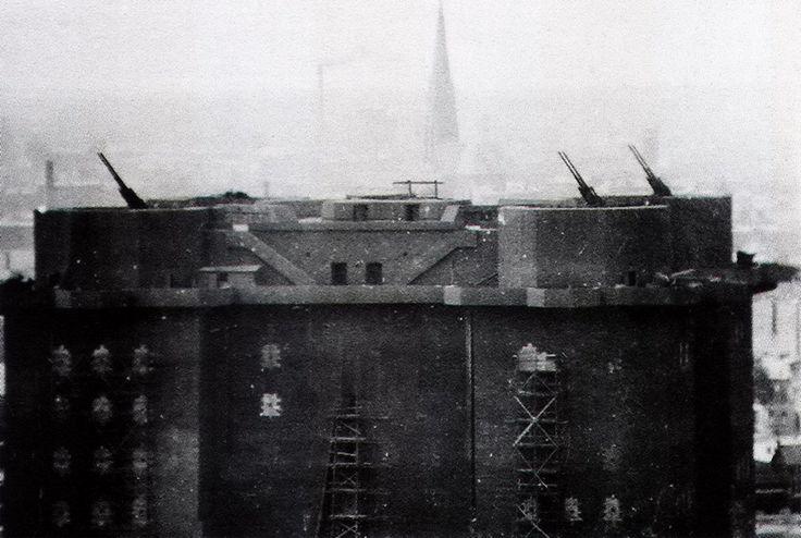 Flak tower, Hamburg.