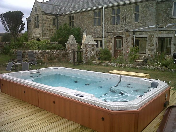 17 Best Images About Hot Tub Ideas For The Garden On Pinterest Gardens Swim And Rivers