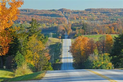 I remember autumn/fall driving in Grey County in our family station wagon and Volkswagen van & bus rides to & from my Owen Sound school & Bognor home.