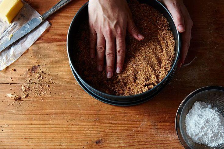 Nigella Lawson's No-Bake Nutella Cheesecake
