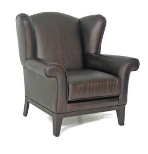 CC Wingback chair (ottoman available)