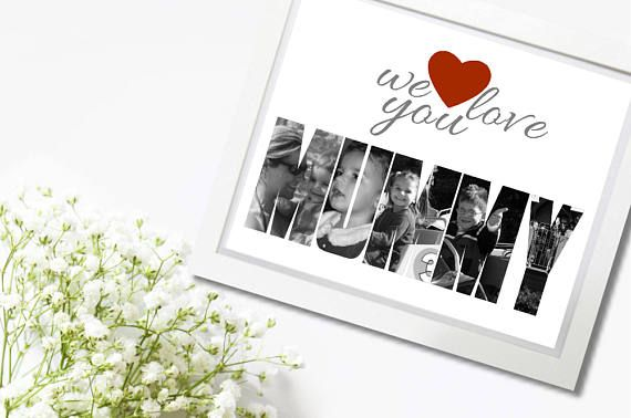 Custom Photo Wall Art Mothers Day Gift Gifts For Mum Photo