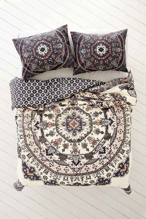 Magical Thinking Yaella Medallion Duvet Cover-Urban Outfitters