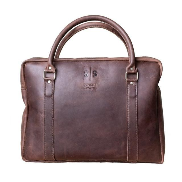An all time favorite, the Boaz Briefcase in Brown. This leather piece is great for both men and women Get yours here: http://swish-swank.com/products/boaz-briefcase