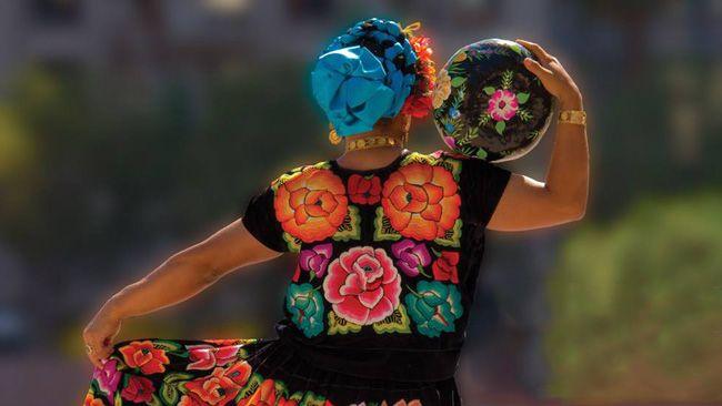 Traje Tehuana #México #Oaxaca
