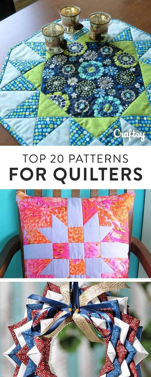 Looking for your next quilting project? Try your hand at one of these free patterns.