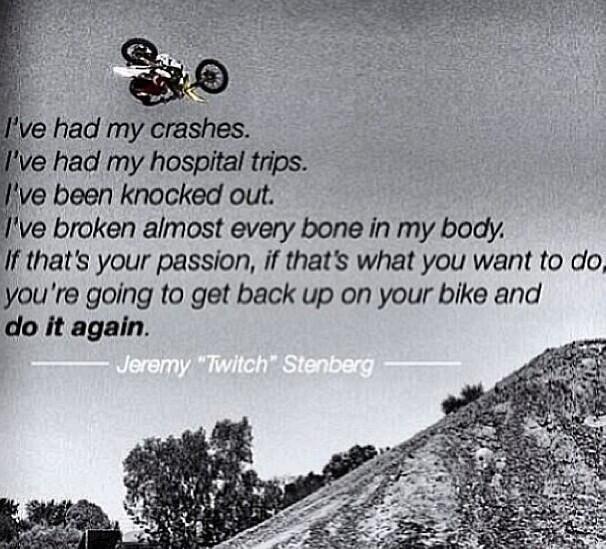 """"""". . .do it again."""" Motocross"""