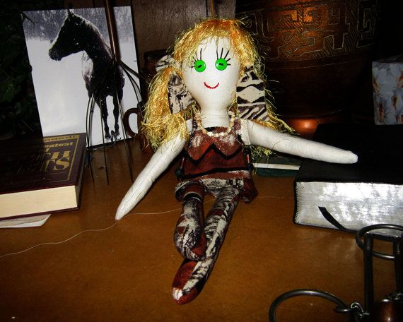 Custom Made Cloth Doll